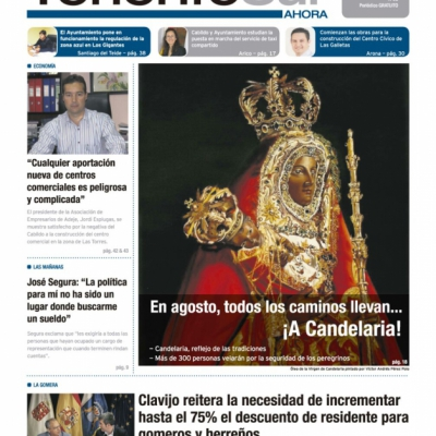 Las portadas de Tenerife Sur ¡Ahora!